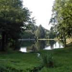 L'étang de Calvinet , gite de la Rouquette