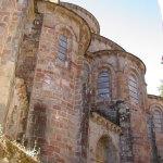 Abside de l'abbatiale romane de Conques