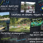 base de canoe de Viellevie asvolt