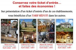 partenariat châteaux musées