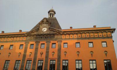 L'hôtel de ville d'Aurillac