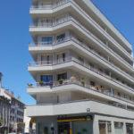Aurillac immeuble des années 1960