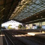Gare d'Aurillac, grande verrière XIX e
