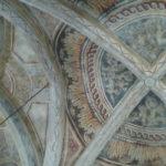 Voute de la chapelle de la Ste Croix à Cassaniouze