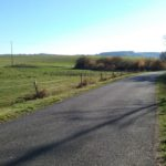 Route de Calvinet au Château de Lamothe
