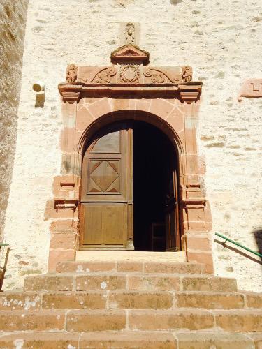 Eglise de grand Vabre portail Renaissance