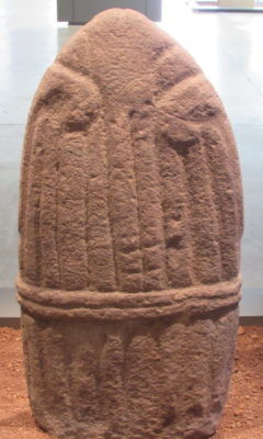 Statue menhir du musée Fenaille à Rodez