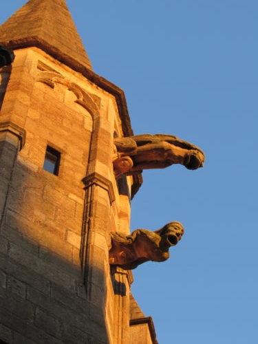 Gargouilles de la cathédrale de Rodez