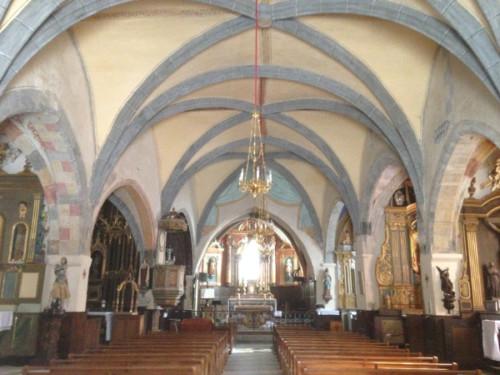 L'église St Martin de Marcolès