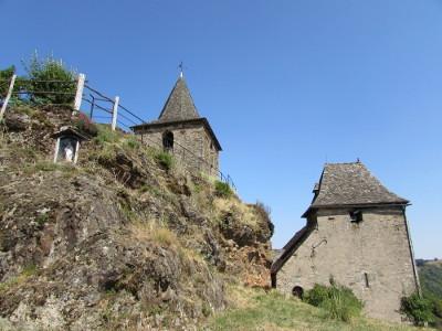 L'église de la Vinzelle et son clocher