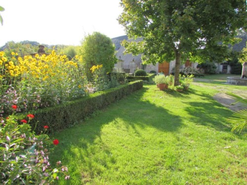 Le jardin d'agrément de La Rouquette
