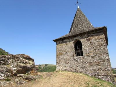 Le vaillant clocher de la Vinzelle