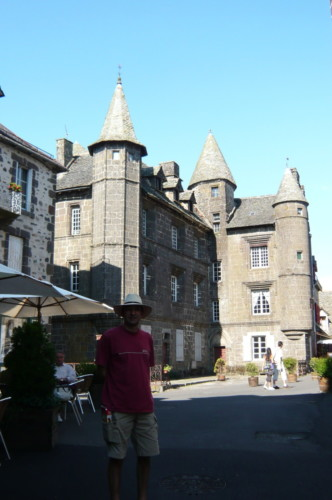 Salers, plus beau village de France
