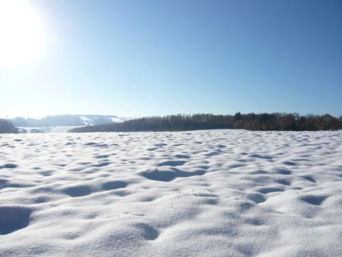 Promenade hivernale à La Rouquette