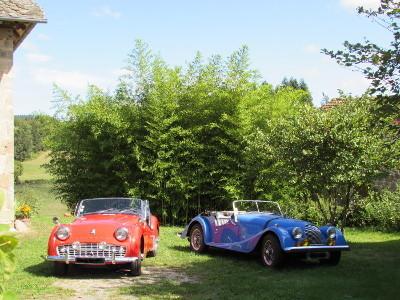 Triumph 1959 et Morgan